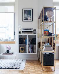 tour this designer u0027s hip and eclectic nyc studio the everygirl