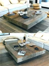 Coffee Tables Plans Square Coffee Table Plans Plan Rustic Square Coffee Table Plans