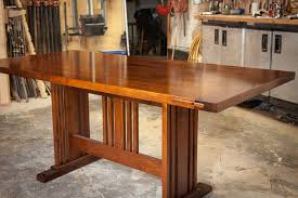 woodworking dining room table download woodworking plans for trestle tables diy playhouse