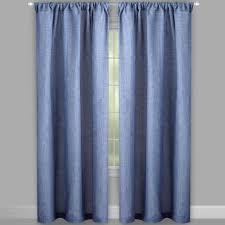 alexander solid rod pocket window curtains set of 2 christmas