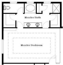 master suite floor plans 17 best master bathroom designs images on bathroom