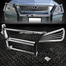lexus is grill chrome brush protector grille rear bumper guard for 03 09 lexus