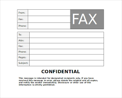 Fax Cover Sheet Template Pdf Word Fax Cover Sheet Free Fax Cover Sheet Word Sle Blank Fax