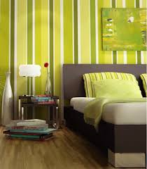 green wallpaper home decor bedroom decorating ideas green paint and wallpaper