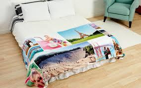How Big Is A King Size Bed Blanket Photo Blanket Custom Fleece Photo Blankets Collage Com