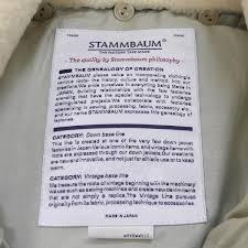 stammbaum co jp stammbaum ダウンベスト メンズ レディースのブランド古着通販