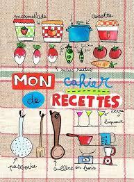 livre de cuisine vierge mon cahier de recettes pour la cuisine maki papier recyclé