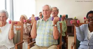 Armchair Aerobics Exercises Exercises For Those With Limited Mobility