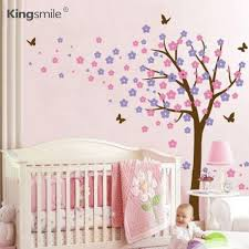 Aliexpresscom  Buy Modern Butterfly Trees Decals Flower Wall - Butterfly kids room