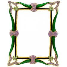 mardi gras frame enamel swirls mardi gras photo frame 4 x 6 mardigrasoutlet