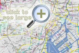 best tourist map of tokyo maps top tourist attractions free printable city