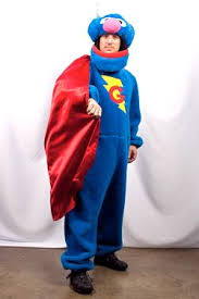Grover Halloween Costume Super Grover Costume Creative Costumes