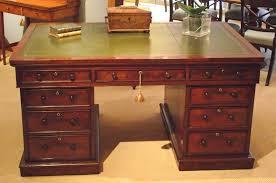 Modern Partners Desk Modern Concept Vintage Desk With Antique Mahogany Partners Desk