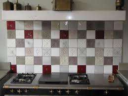 carrelage cuisine faïence et carrelage mural de cuisine carreaux artisanaux pour