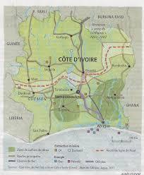 Ivory Coast Map Ivory Coast U0027s Cocoa U2013 A Blessing And A Curse U2013 2 View From The