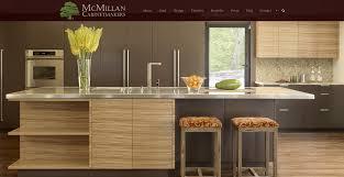 redesigned custom wordpress website for mcmillan cabinetmakers