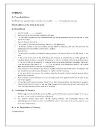 end of lease letter to landlord template tenancy agreement template freewordtemplates net tenancy contract sample