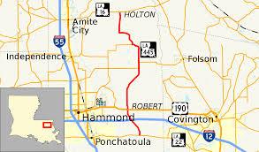 Interstate 55 Wikipedia Louisiana Highway 445 Wikipedia