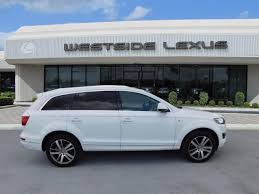 Audi Q5 8040 - white audi q7 in texas for sale used cars on buysellsearch
