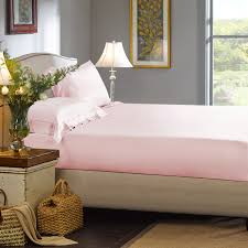 Pale Pink Duvet Cover Light Pink Silk Fitted Sheet