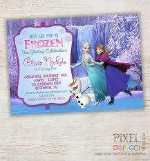 best 25 frozen birthday invitations ideas on pinterest elsa