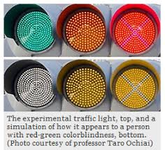 Red Green Blind Japan Let There Be Light Red Green Colorblind Friendly Traffic