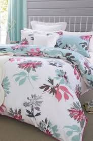 Bed Linen Sets Uk Buy Hydrangea Plum Cotton Sateen Bed Set From The Next Uk