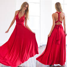 sexi maxi dresses 2017 summer women infinity maxi wrap dress gown