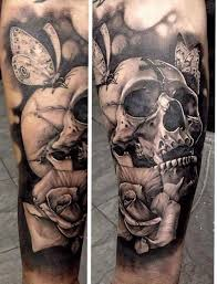 small skull tattoos on arm photo 4 2017 real photo pictures