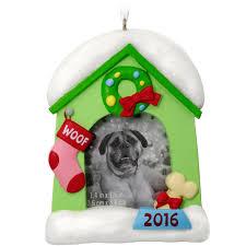 hallmark 2016 dog photo frame ornament walmart com