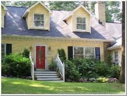 yellow house what color shutters paint colors confessions of a