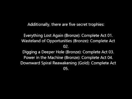 There Are Five Lights Mad Max Ps4 Hidden Trophies Youtube