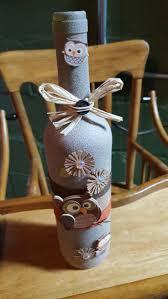 Wine Bottle Halloween Crafts by The 25 Best Fall Wine Bottles Ideas On Pinterest Easy Table