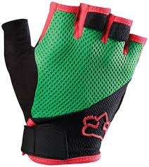 cheapest motocross gear fox reflex gel short mtb gloves bicycle green pink fox pullover