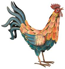 metal rooster decor design ideas u0026 decors