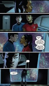 Star Trek Kink Meme - spock uhura shippers