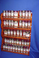 Extra Large Spice Rack Masterfoods Large Timber Spice Rack Ebay