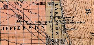 44th Ward Chicago Map by Lakeview Historical Chronicles The Outer Drive