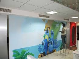 corporate chennai wall painting making of wall mural 51
