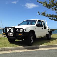 sold 1997 holden rodeo r7 ls space cab white manual 4x4 utility