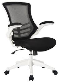 White Mesh Office Chair by Mesh Op White Black Mesh Back Operator Chair With White