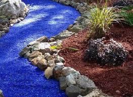 Gravel Landscaping Ideas Blue Glass Gravel Landscaping 7 Gravel Landscaping Ideas Bob Vila