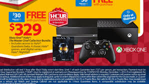 xbox one halo bundle with 30 gift card is walmart black friday