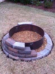 Build Backyard Fire Pit It U0027s The Pits Yards Gardens And Backyard