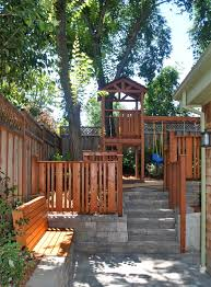 backyard playsets landscape traditional with backyard bench seat
