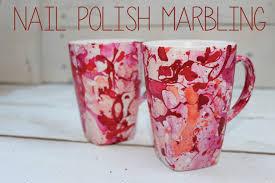 nail polish marbling u2013 diy 1 mugs my crafty spot when life