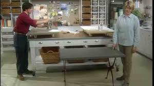 how big is a card table video how to re cover a card table martha stewart