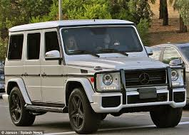 mercedes that looks like a jeep look out jenner is back on the road in a white suv