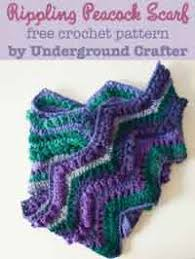 simple pattern crochet scarf over 300 free crocheted scarf patterns at allcrafts