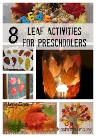 leaf science activities packet